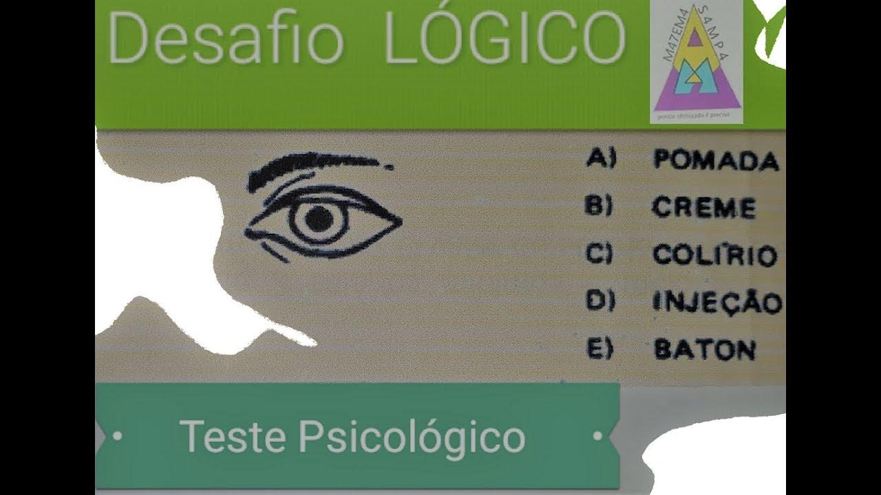 Download Desafio Lógico- teste de nìvel mental - Psicoteste 9