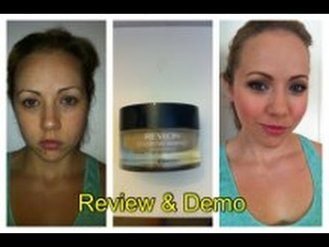 Revlon Colorstay Whipped Creme Makeup! Review & Demo! - YouTube