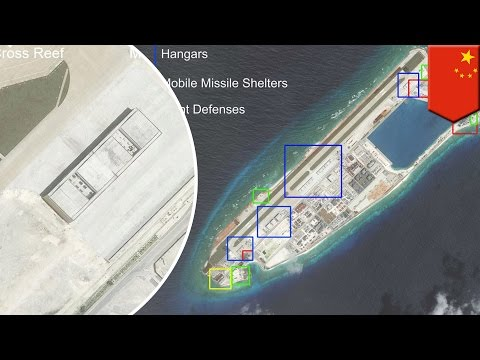 South China Sea disputes: China arms island outposts with military infrastructures - TomoNews