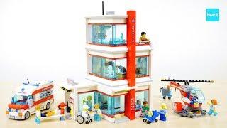 レゴ シティ レゴシティ病院 60204 セット説明 8:31~ / LEGO CITY City Hospital