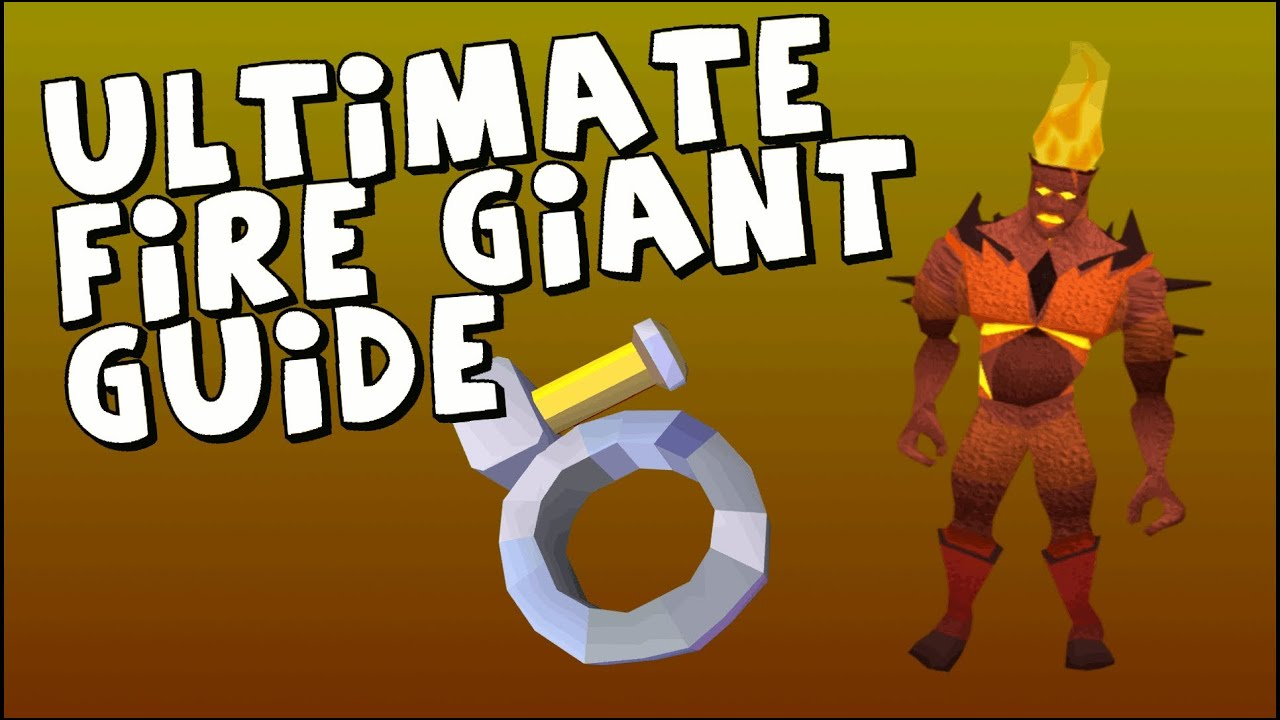 Runescape: Ultimate Fire Giant Slayer Guide - Melee [HD ...