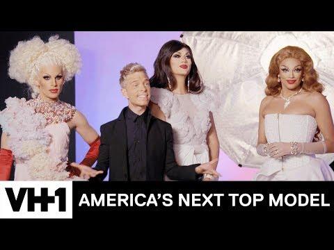 The Models Shoot w/ Drag Race Royalty 'Sneak Peek' | America's Next Top Model