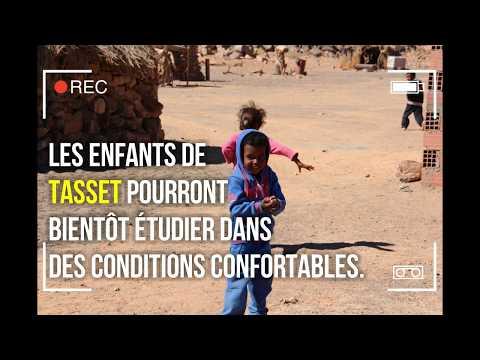 Projet Chams - Electrification d'un village touareg à l'énergie solaire