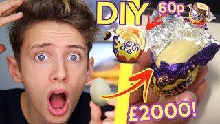 I MADE THE DIY WHITE CADBURYS CREME EGG... *GIANT £2000* GeorgeMasonTV