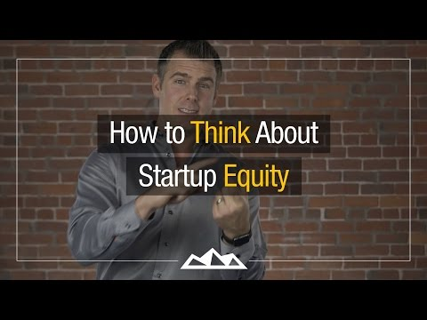 How To Distribute Startup Equity (The Smart Way)  | Dan Mart