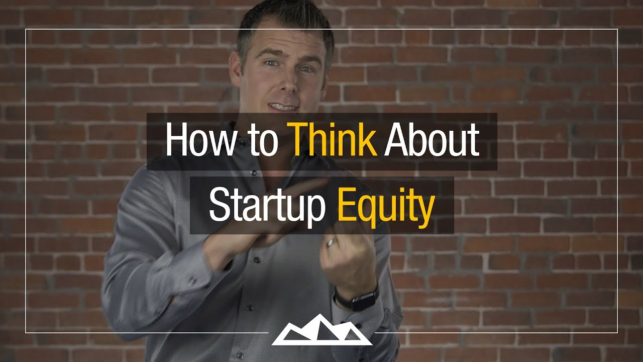 How To Distribute Startup Equity The Smart Way Dan Martell Youtube