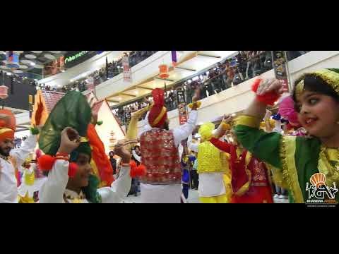 Bhangra Arena || Pacific Mall New Delhi || Diwali Performance || Flashmob
