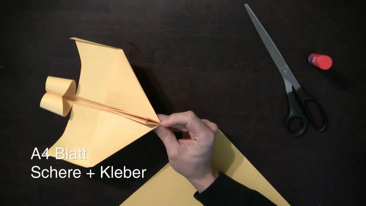 papierflieger bauanleitung anleitung um einen super flieger zu falten youtube. Black Bedroom Furniture Sets. Home Design Ideas