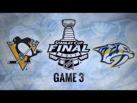 Predators use strong 2nd to down Pens in Game 3, 5-1