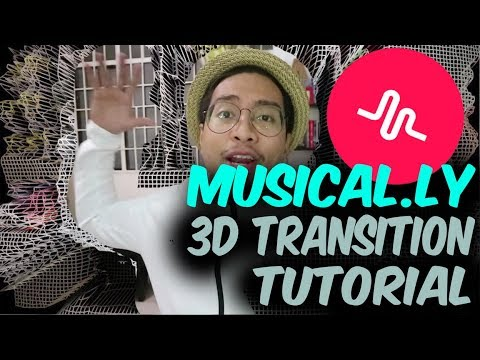3D Glitch Transition Tutorial [Musical.ly Tutorial]