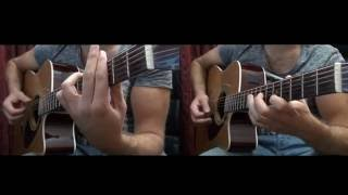 An eisai ena asteri - אייל גולן כשאת איתו קליפ  Guitar cover (αν εισαι ενα αστερι)