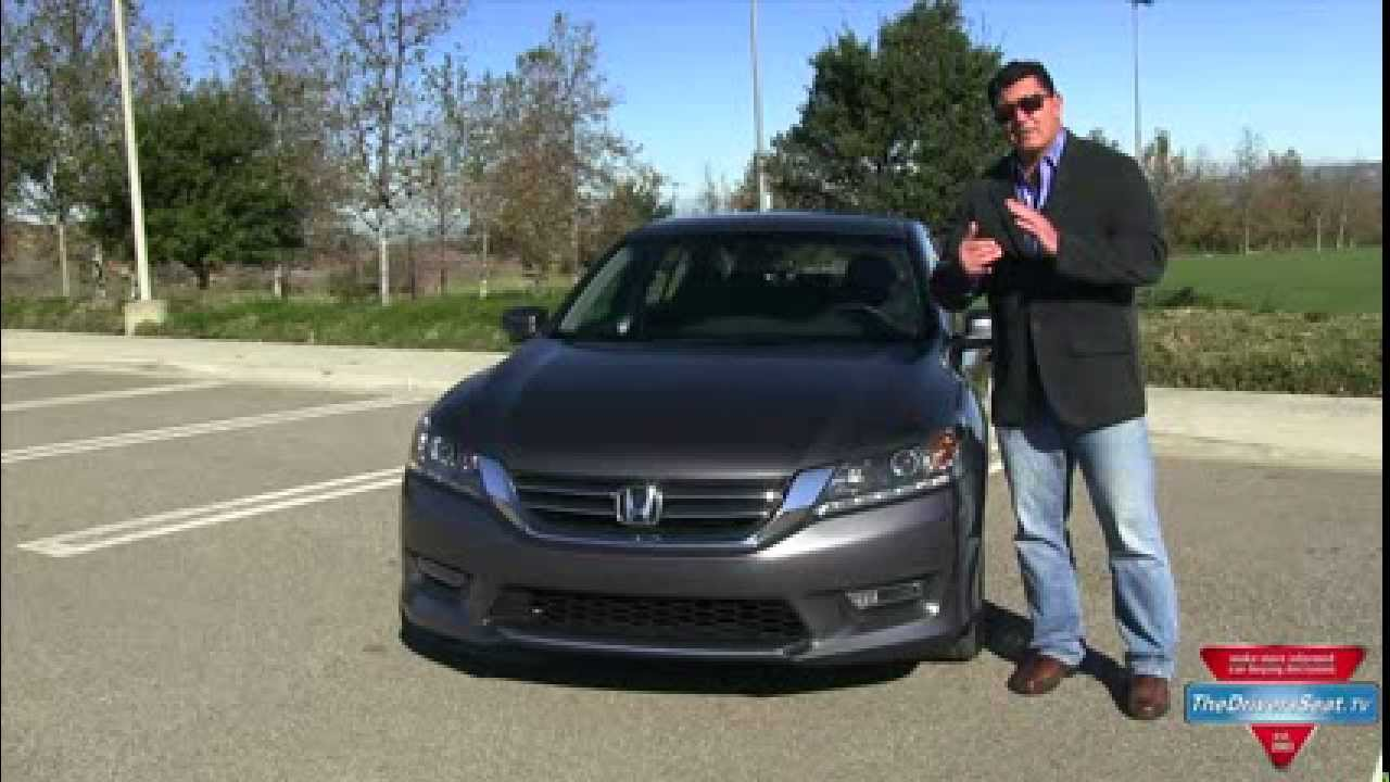2013 Honda Accord Sedan Review   YouTube
