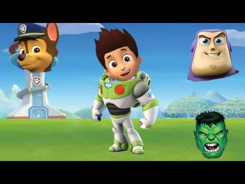 Thumbnail: Wrong Heads Paw Patrol Toy Story Hulk Dora Finger Family Nursery Rhymes