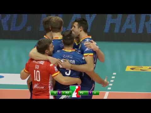 Gli highlights di Bunge Ravenna - Kioene Padova 3-1