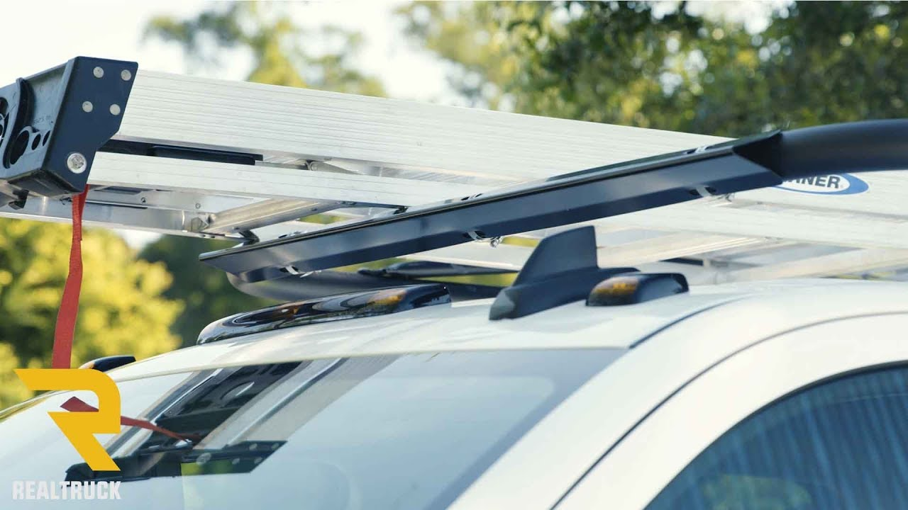 How To Install Optional Buyers Truck Rack Wind Deflector Youtube