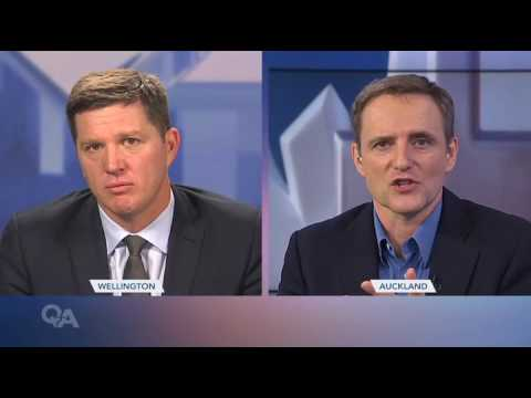 Aviva CEO Mark Wilson speaks to TVNZ's Q+A programme