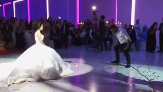 Турецкая свадьба 2016. Танец жениха и невесты.