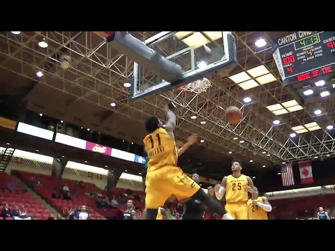 John Holland throws it down vs. the Swarm