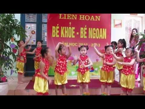 Trường mẫu giáo mầm non A 88 Thợ Nhuộm Hoàn Kiếm Hà Nội - Bé khoẻ bé ngoan 2013