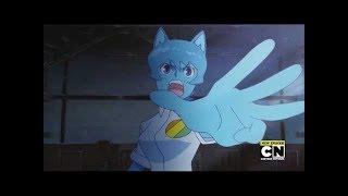 El increíble mundo de Gumball - Lucha anime - Español Latino