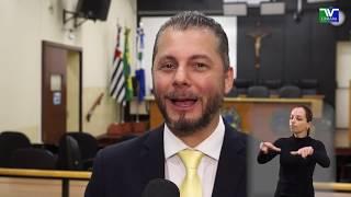 Jornal Acontece - Título de Cidadão Araraquarense ao Dr. Caio Augusto dos Santos
