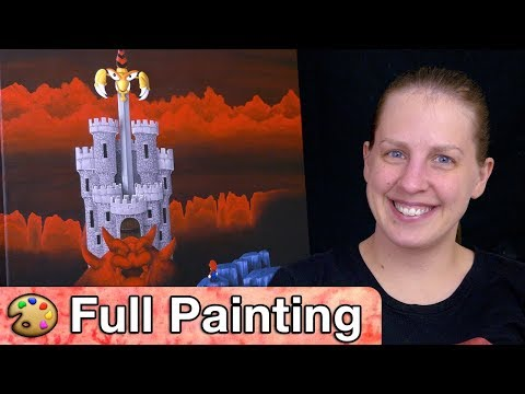 """Super Mario RPG - """"The Keep"""" Painting (Full Version)"""
