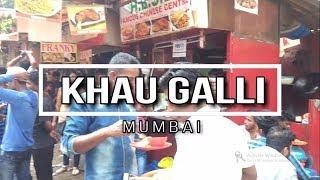 Khau Galli, Mumbai Churchgate | Best Street Food of India | Pav Bhaji, Dosa, Chinese - Biker Aman