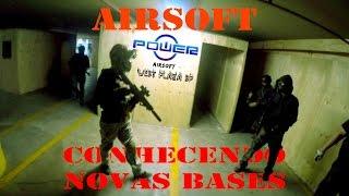 Airsoft - Power Airsoft SP CQB (Conhecendo novas bases) #ZunigaTactical