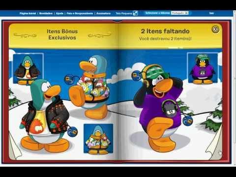 club-penguin-desbloqueando-livro-dos-tesouros!