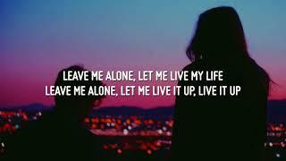 Major Lazer & Rudimental - Let Me Live feat. Anne-Marie & Mr. Eazi [ Official Song ] Lyrics