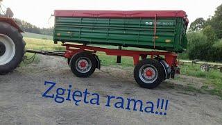 Zgięta Rama!! Przyczepa Hl 6011