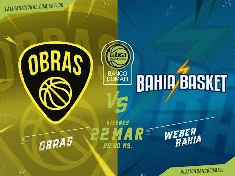 #LaLigadeDesarrollo | 23.03.2019 Obras Basket vs. Bahía Basket