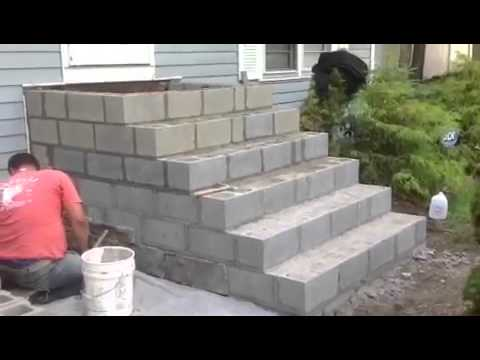 Cultured Stone Steps Mazzilli Masonry Youtube