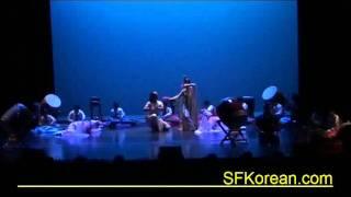 19회 샌프란시스코 한국의날 전야제 - 옹경일 다민족무용단