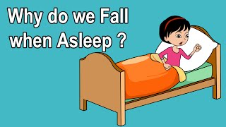 WHY DO WE GET THE SENSATION OF FALLING WHEN WE SLEEP?