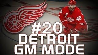 """NHL 14: Detroit Red Wings GM Mode #20 """" HUGE Off-season! """""""