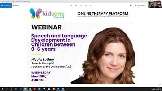 Speech & Language Development in Children between 0-6 years