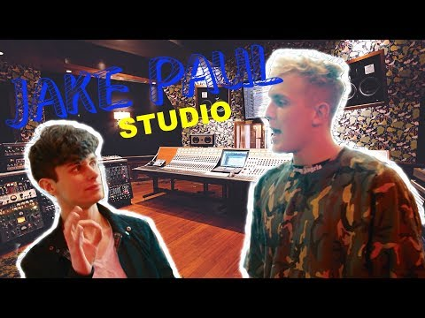 IN THE STUDIO WITH *JAKE PAUL!*