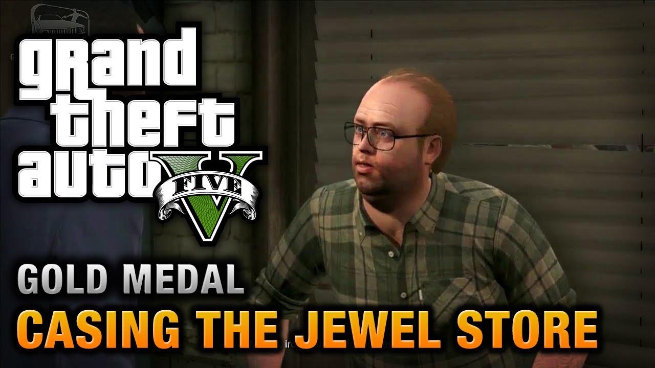 Gta  Casing The Jewel Store  Gold Medal Walkthrough Youtube