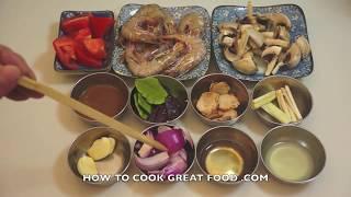 Thai Shrimp Soup Tom Yum Recipe