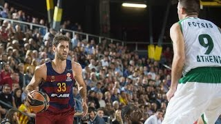 In a showdown between turkish airlines euroleague giants, fc barcelona lassa grabbed its second consecutive win group c by downing panathinaikos athens 77...