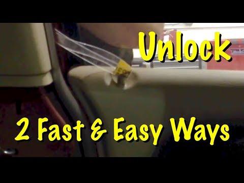 how-to-unlock-car-door-when-keys-locked-in-car