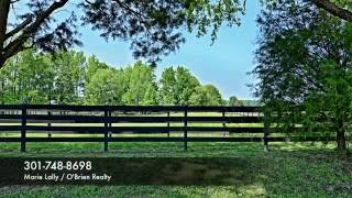 Waterfront Horse Farm Property for Sale - Saint Mary's County MD