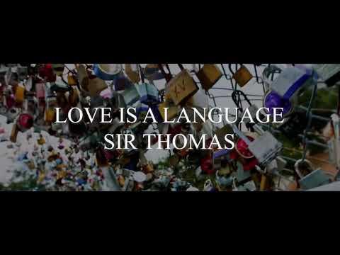 Love Is A Language (Spoken Word)