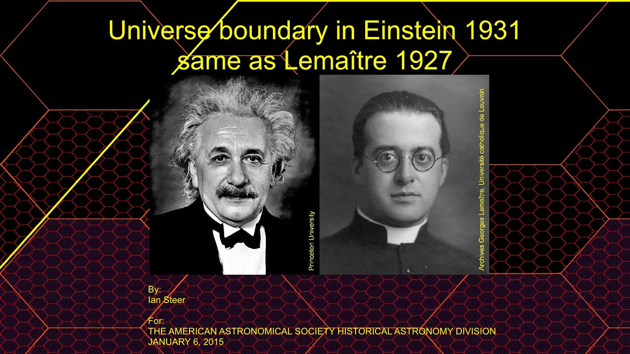 a study on the big bang theory of georges lemaitre Georges-henri lemaitre was the first scientist to figure out the basics of how our universe was created his ideas led to the theory of the big bang, which began the expansion of the universe and influenced the creation of the first stars and galaxies his work was once ridiculed, but the name .