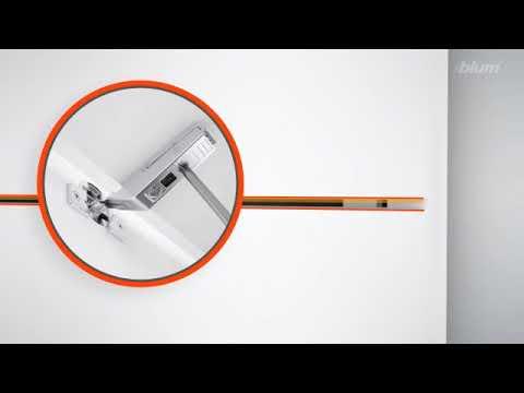 Hướng dẫn chi tiết cách điều chỉnh thông số tay nâng Blum HF