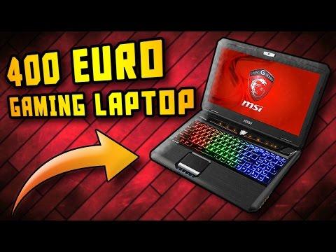 400 EURO GAMING LAPTOP?! 4K ODER VR KEIN PROBLEM!