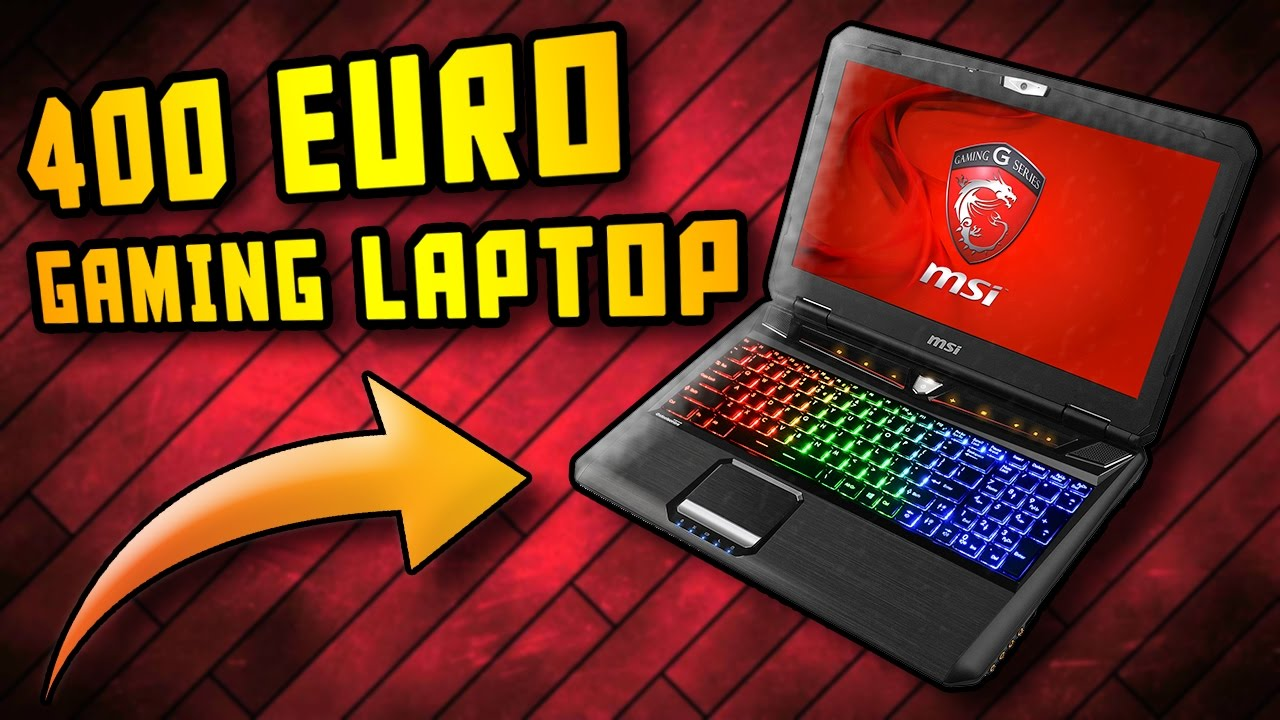 400 euro gaming laptop 4k oder vr kein problem bestes. Black Bedroom Furniture Sets. Home Design Ideas