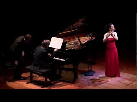 Dutilleux Sonatine - Sooyun Kim, flute and Juho Pohjonen, piano
