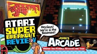 Atari Super Breakout - 1978 - Original Dedicated Arcade Review